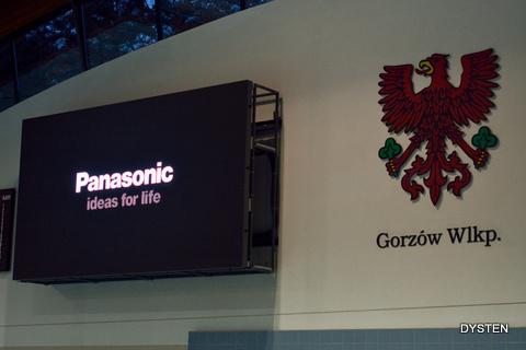 Gorzów Wlk ekran LED na basenie