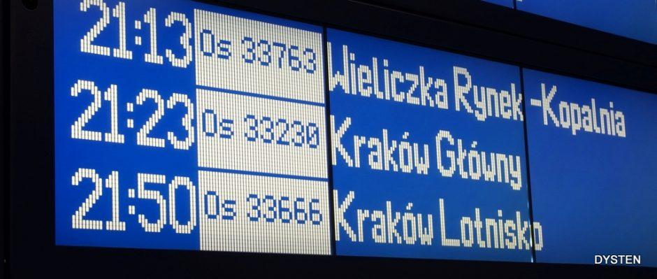 rozkład jazdy pkp tablica