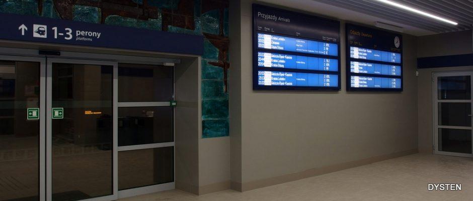 Dworzec PKP dostawca tablic dworcowych