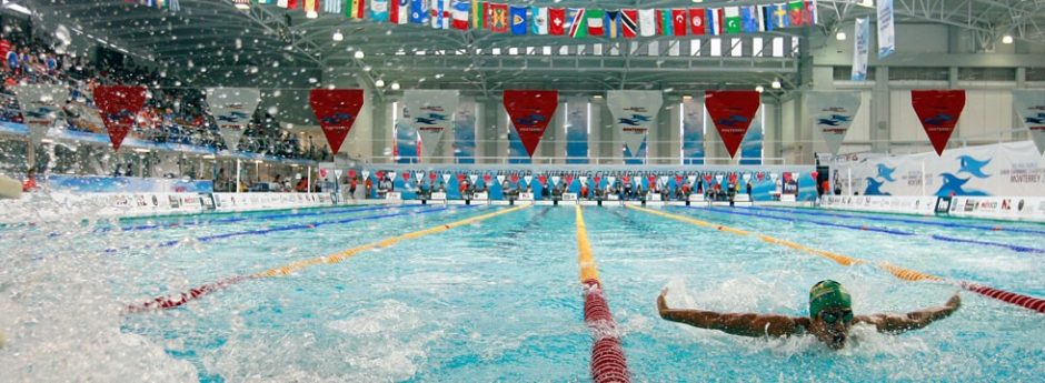 Swimming competition timing system Colorado Time System FINA