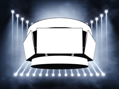 LED cube, video cube, system telebimów, system widowiskowo sportowy