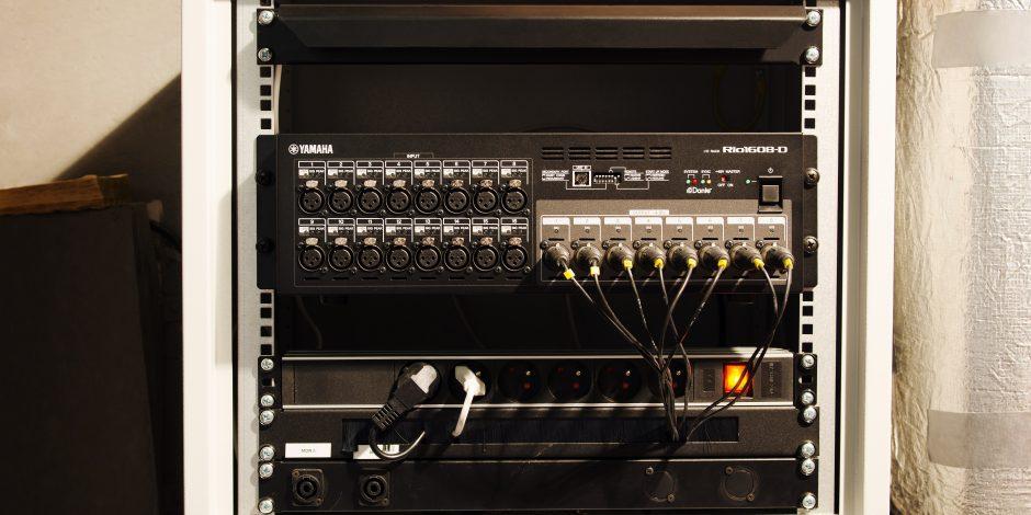 System audio Teatru Ludowego