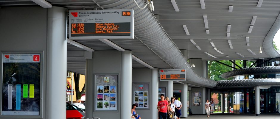 Modern displays for passenger information at the stops