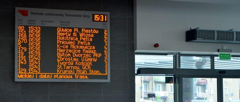 Dynamic Passenger Information System In Tarnowskie Gory