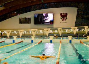 ekran LED na basen