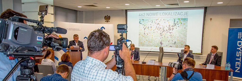 Informacja pasażerska dla przystanków - Dysten zbuduje największy system w Polsce