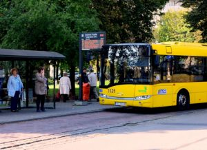 wyświetlacz na przystanki autobusowe