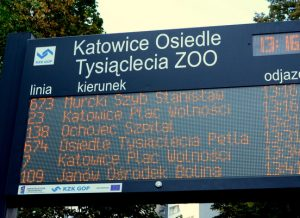 passenger information display