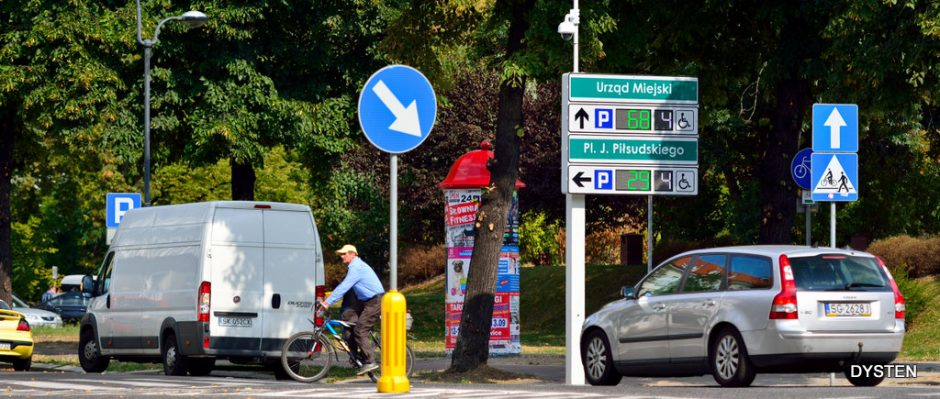 tablica dynamicznej informacji parkingowej