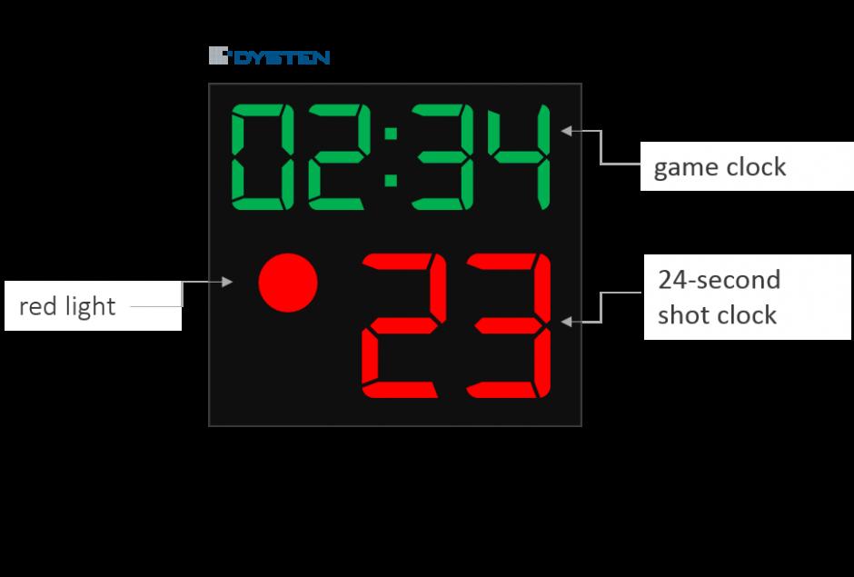 24 second shot clock basketball