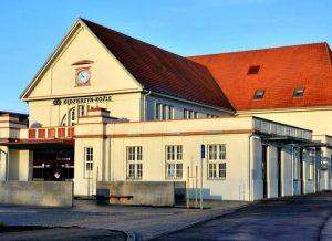 system informacji pasażerskiej dworca dysten