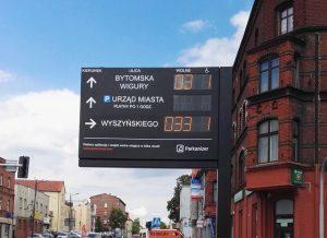 Tablice dynamicznej informacji parkingowej