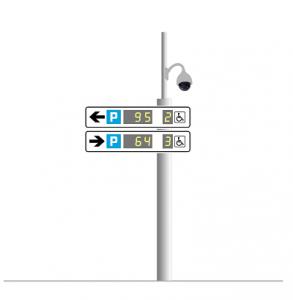 Tablice parkingowe LED