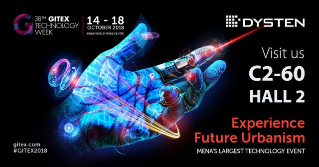 Meet us during Gitex 2018 Technology Week