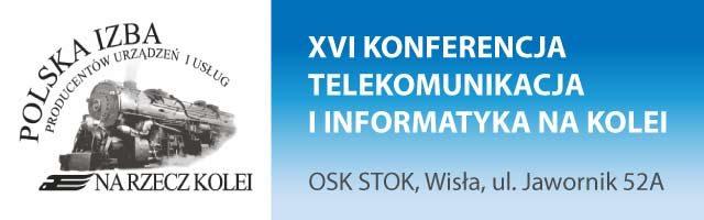 XVI Konferencja telekomunikacja i informatyka na kolei, 13-15 marca 2019, Wisła, informacja pasażerska na kolei, nowe wyświetlacze dla kolei