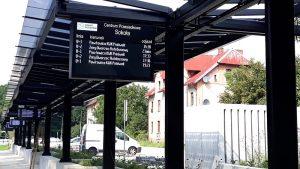 wyświetlacze informacji pasażerskiej