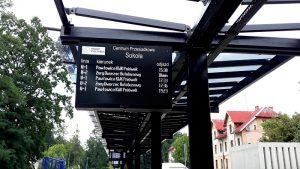 tablice informacji pasażerskiej