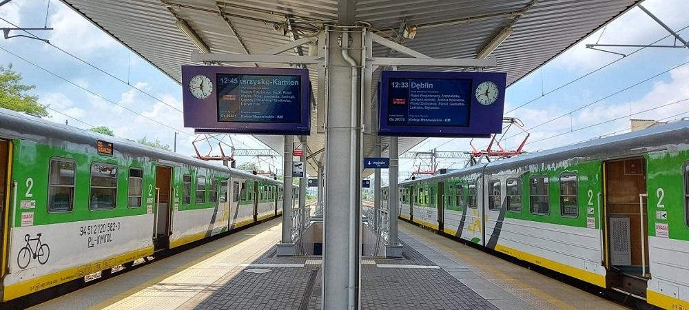pkp plk csdip, ipi6, wyswietlacze kolejowe